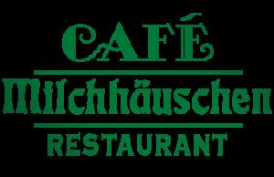 Café Milchhäuschen und Gondelstation am Schlossteich